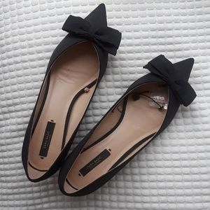 Zara Pointed-Toe Kitten Heels